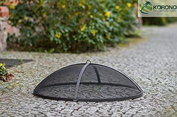 korono rejilla ascuas Chispas – Tapa (Diámetro de 80 cm Acero – para leña.