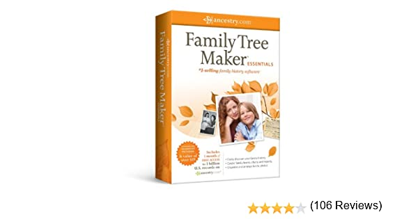 Amazon.com: Family Tree Maker 2011 Essentials [Old Version]