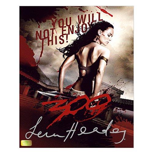 Lena Headey Autographed 8x10 Queen Gorgo 300 Poster]()