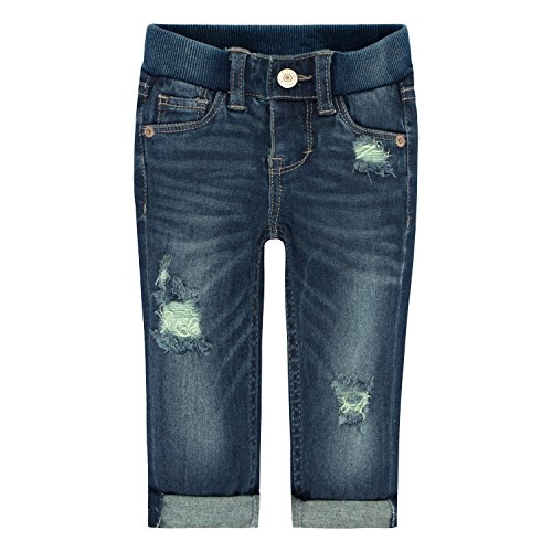 Levi's Baby Girls' Skinny Fit Jeans, Rockabilly, 6/9M ()