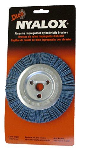 Dico 541-765-5 Nyalox Bench Brush 5-Inch Blue 240 Grit by Dico