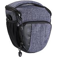 Camera Case K&F Concept Digital SLR / DSLR Professional Camera Shoulder Bag Fashion Style Carrying Bag for Compact system, SLR / DSLR - Gray