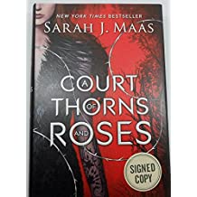SIGNED! A Court of Thorns and Roses Hardcover.
