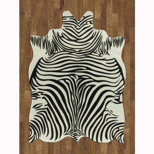 Amazon Com Faux Animal Hide Rug Zebra 5 W X 7 L