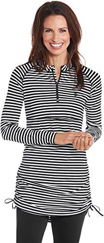 Coolibar Womens Ruche Swim Shirt product image