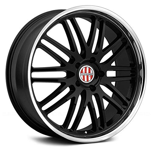 Victor Equipment LEMANS Black Wheel with Painted Finish (19 x 11. inches /5 x 120 mm, 36 mm Offset)