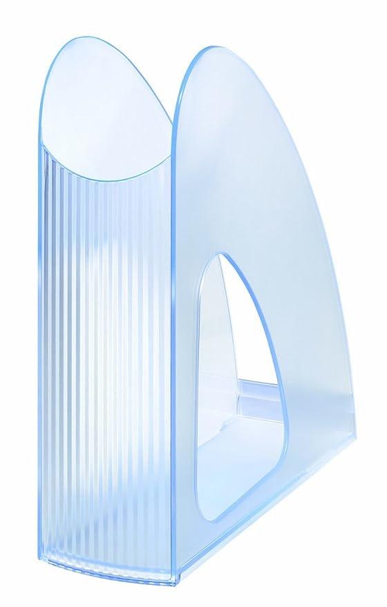 signal-gr/ün Schick HAN 16110-70 Stehsammler TWIN SIGNAL Transparent Modern 10er Packung Standfest und Funktional