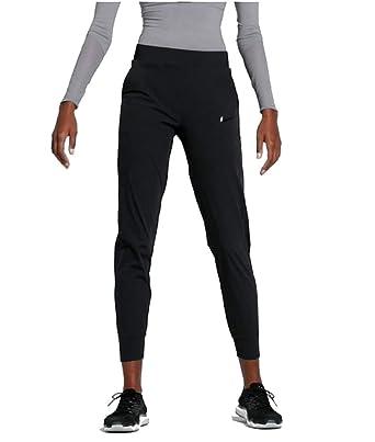 3cb10813 Amazon.com: NIKE Womens Bliss Lux Mid-Rise Training Pants Black/Clear  AQ4638-010 (Medium): Clothing