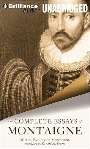 The complete essays of montaigne amazon co uk michel eyquem de
