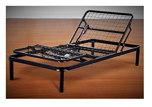 Primo International Fleet Metal Mesh Adjustable Electric Bed Frame with Head and...