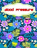 Blood Pressure Recorder Notebook: Blood Sugar And