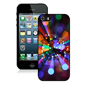 Iphone 5s case,iphone 5 case,Christmas lights Iphone 5/5s Case Black Cover