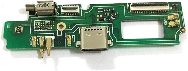 HenShiXin Sensible Puerto USB de Carga Junta de Ajuste For Blackview A9 Pro USB de Carga Piezas de reparación del Muelle Puerto Flex Cable sólido