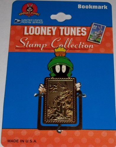 Looney Tunes USPS Stamp Bookmark From 1997 - Green Martian