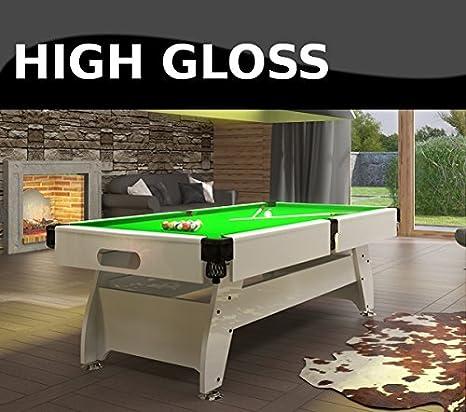 Radley mesa de billar 6 ft Vintage de alta brillante + opciones para personalizar + Gratis Accesorios: Amazon.es: Deportes y aire libre
