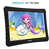 10 inch Kid Adult Android Tablet, 1080p Full HD Display Android 7.0,2GB+32 GB,Dual Camera Front 2MP+ Rear 5MP,Bluetooth and WiFi Blue Kid-Proof Case