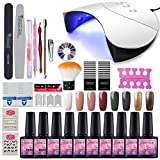 Fashion Zone 36W LED Nail Dryer Base Coat Top Coat Gel Nail Polish - Best Reviews Guide