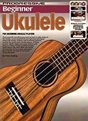 Progressive Beginner Ukulele Ukulele - BOOK+CD+DVD