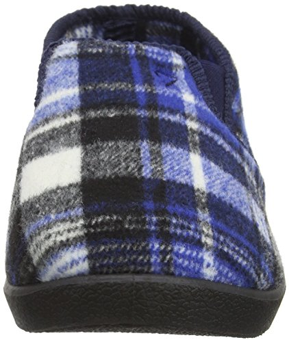Farah Sutton, Zapatillas de Estar por Casa para Hombre Azul