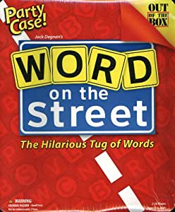 Word On The Street Party Case - The Hilarious Tug of Words