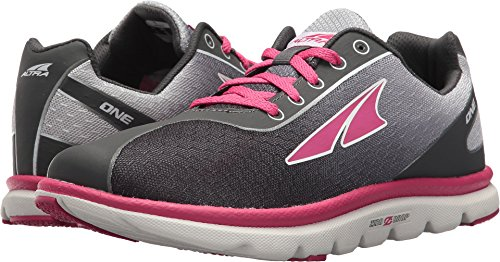 Price comparison product image Altra Kids' One Jr Running Shoe (1.5 M US Little Kid, Raspberry)