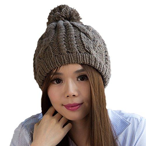 Sombrero Lana de 4 Coreana Sombrero Coreano Maozi 1 a Punto del Punto de de Las Sombrero Bromista Invierno Moda señoras z7WfO4PW
