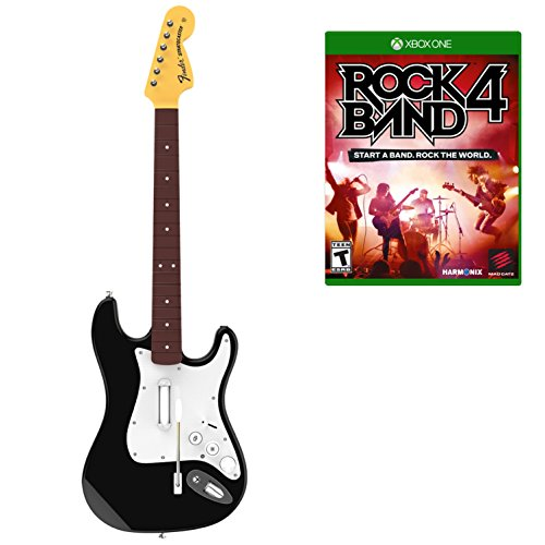 (Rock Band 4 Wireless Guitar Bundle- Xbox One)
