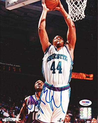 - Derrick Coleman Signed Photo - 8x10#S40065 - PSA/DNA Certified - Autographed NBA Photos