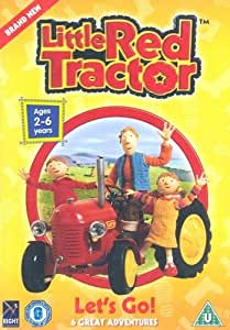 Little Red Tractor- Let's Go [DVD]