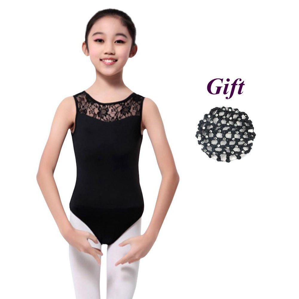 839321af9 Hougood Girls Ballet Leotards Gymnastic Leotards Classic Bodysuit ...