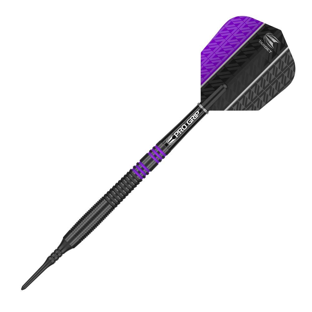schwarz violett violett weiche Spitze 2018 2018 Vapor8 18 g weiche Spitze Target Dartpfeile Vapor8 schwarz 18 g