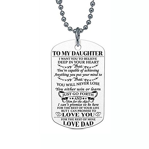 Gbell Girls Boys Hip Hop Necklace Jewelry Charms - Retro Chain Trend Neck Chain Pendant Gifts for Daughter Son Kids,Women Lady Men,Birthday Gifts