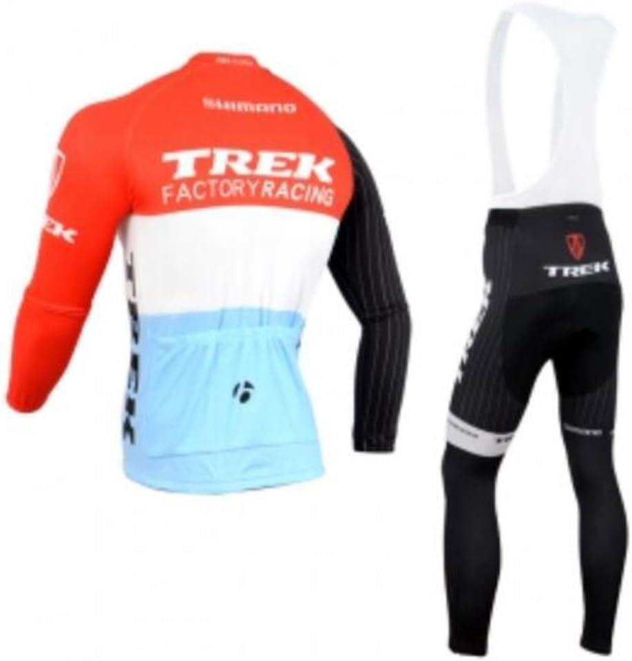 TOPBIKEB Maillot Cyclisme Homme Manche Longue Thermique et 3D Tenue VTT Velo Ensemble Equipe ProHomme /Ét/é Respirant Confort Hiver