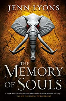 The Memory of Souls by Jenn Lyons science fiction and fantasy book and audiobook reviews