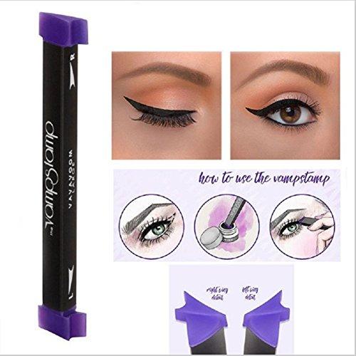 Tianmeijia Stamps Eyeliner Beauty Makeup Brush Set Vamp Stamp Cat Eye Wing Waterproof Natural Eyeliner Stamp