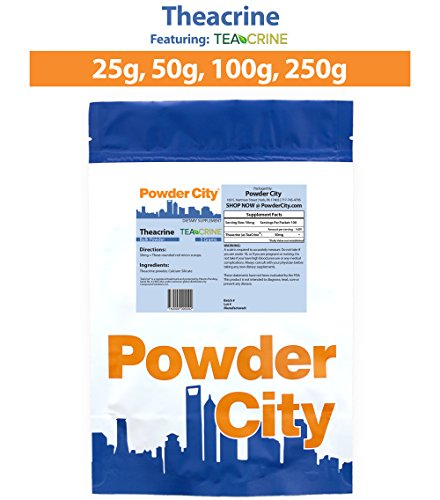 Powder City Theacrine Teacrine Powder (5 grams)
