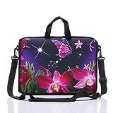17-inch to 17.3-Inch Laptop Shoulder Sleeve Messenger Bag Case With Handles ...