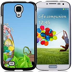 Unique and Fashionable Cell Phone Case Design with Easter Basket Green Leaves Galaxy S4 Wallpaper
