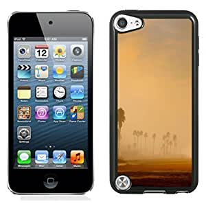 Lovely and Durable Cell Phone Case Design with Los Angeles Morning Beach iPod Touch 5 Wallpaper