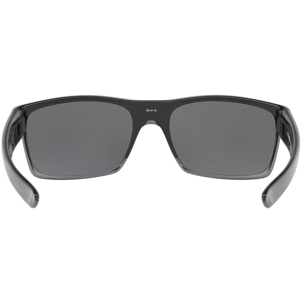 7fbbfb2e0 Amazon.com: Oakley Twoface Polarized Rectangular Sunglasses,Polished Black,One  Size: Oakley: Clothing