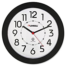 Lorell 8.5 Radio Controlled Wall Clock