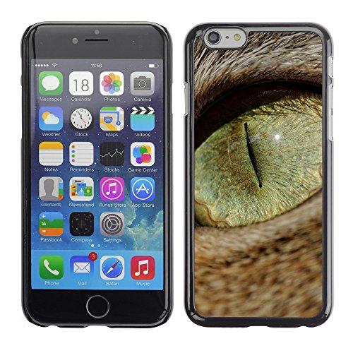 "Premio Sottile Slim Cassa Custodia Case Cover Shell // V00003096 cat macro oeil // Apple iPhone 6 6S 6G PLUS 5.5"""