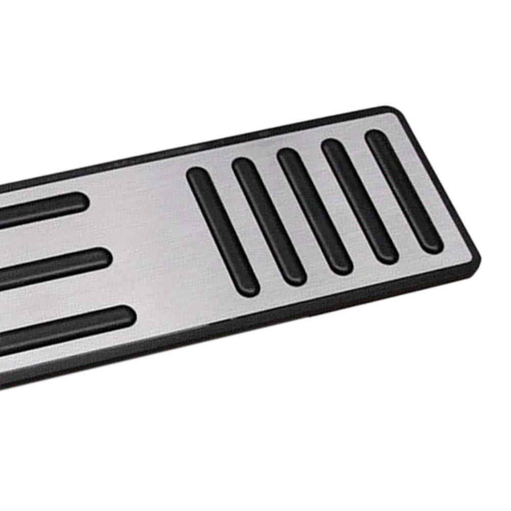 Auto Gaspedal Fu/ßst/ütze Pedal Edelstahl Bremspedal f/ür Tesla Model S//X rutschfest 3,5 mm Dicke