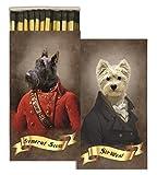 HomArt Matches - Regal Dogs (Set of 50)