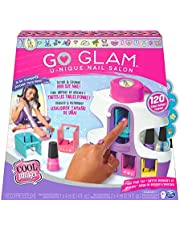 Cool Maker GO GLAM U-nique Nail Salon with Portable Stamper, 5 Design Pods and Dryer, Nail Kit Kids Toys for Ages 8 and Up