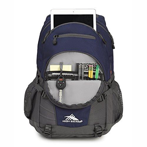 Large Product Image of High Sierra Loop Backpack, Great High School, College Backpack, School Bag, Tablet Sleeve, Perfect Travel, Men Women's Backpack
