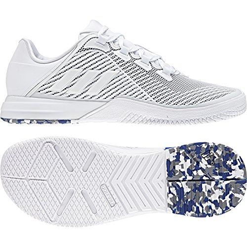 adidas Crazypower TR M, Scarpe da Fitness Uomo Bianco (Ftwwht/Grey/Croyal)