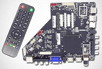 Ochoos Original 100% Test para T.HV510.81 en lugar de T.MS628.81 Android Smart TV Network TV Drive Board.8g + 1b de memoria: Amazon.es: Bricolaje y herramientas