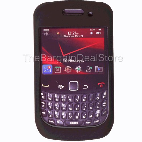 - Blackberry Curve 9330 9300 8530 Double Cover Hard Case Black OEM