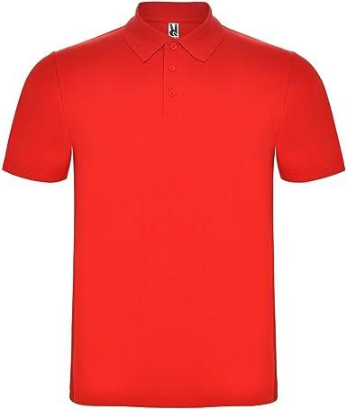 Dalim Polo Rojo para Hombre, 100% Algodón, Austral: Amazon.es: Ropa y accesorios